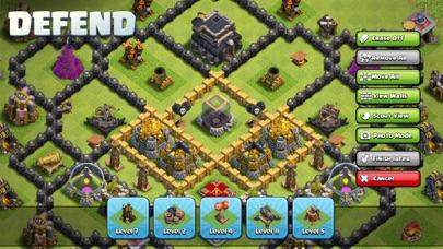 Clash of Clans iphone screenshot 2