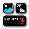 Cancel Widget | Countdown & photo