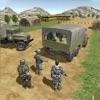 Freight of combat warriors