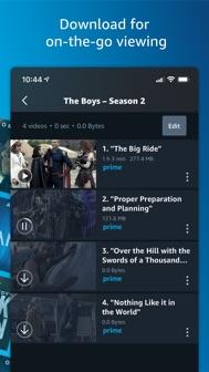Amazon Prime Video iphone screenshot 3