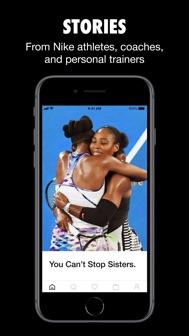 Nike iphone screenshot 4