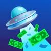 UFOMoney: Planet Eating Game delete, cancel