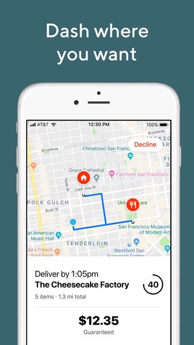 DoorDash - Driver iphone screenshot 3