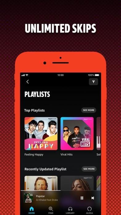 Amazon Music: Songs & Podcasts iphone screenshot 4