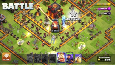 Clash of Clans iphone screenshot 1