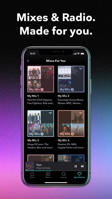 TIDAL Music iphone screenshot 4