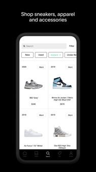 GOAT – Sneakers & Apparel iphone screenshot 1