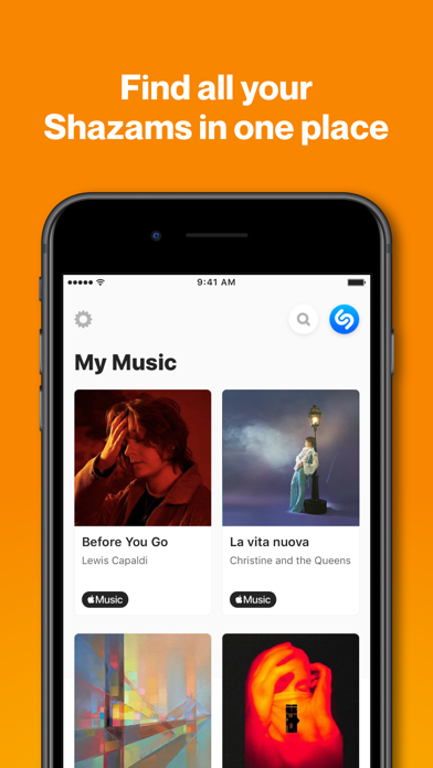 How to cancel & delete Shazam: Music Discovery 1