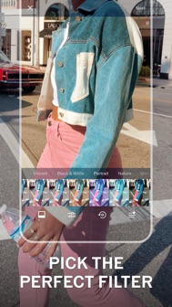VSCO: Photo & Video Editor iphone screenshot 2