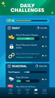Tetris® iphone screenshot 2