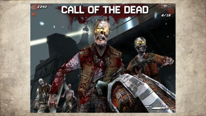 Call of Duty: Black Ops Zombies iphone screenshot 1