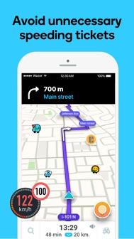 Waze Navigation & Live Traffic iphone screenshot 4