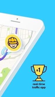 Waze Navigation & Live Traffic iphone screenshot 2
