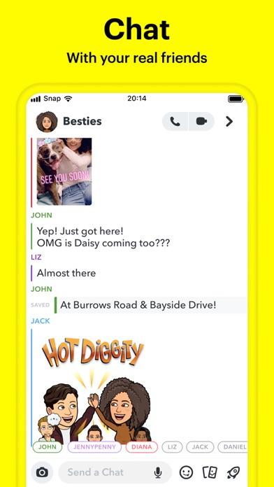 Snapchat iphone screenshot 2