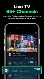 Hulu: Stream movies & TV shows iphone screenshot 3