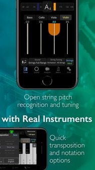 TonalEnergy Tuner & Metronome iphone screenshot 4
