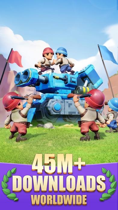 Top War: Battle Game iphone screenshot 1