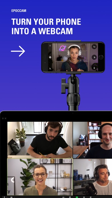 EpocCam Webcamera for Computer iphone screenshot 1