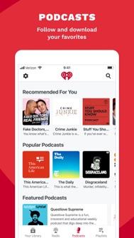 IHeart: Radio, Music, Podcasts iphone screenshot 4