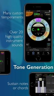 TonalEnergy Tuner & Metronome iphone screenshot 3