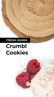 Crumbl Cookies iphone screenshot 1