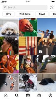 Instagram iphone screenshot 3