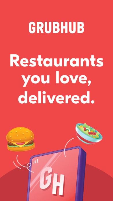 Grubhub: Local Food Delivery iphone screenshot 1