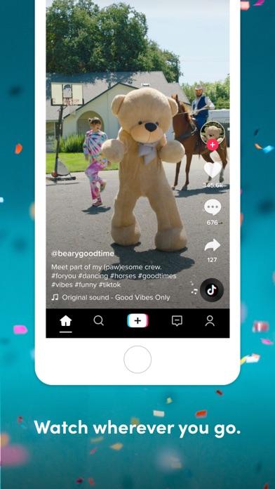 TikTok iphone screenshot 2