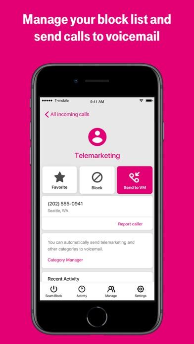 T-Mobile Scam Shield iphone screenshot 4