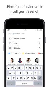 Google Drive iphone screenshot 2