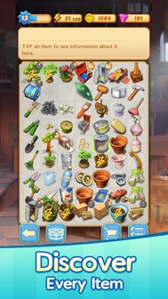 Merge Mansion iphone screenshot 3