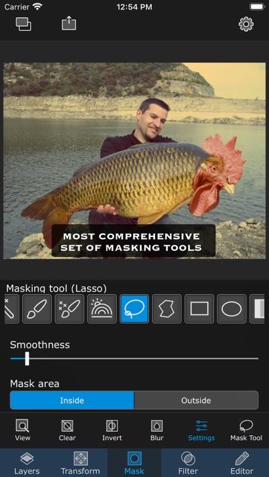 Superimpose iphone screenshot 2