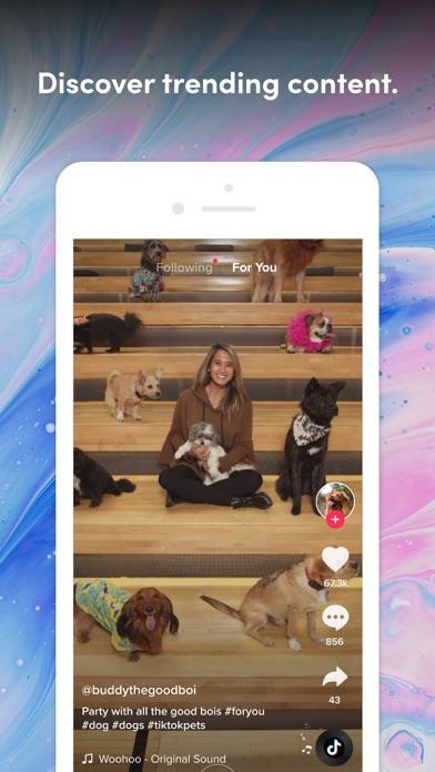 TikTok iphone screenshot 3