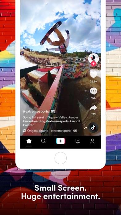 TikTok iphone screenshot 4