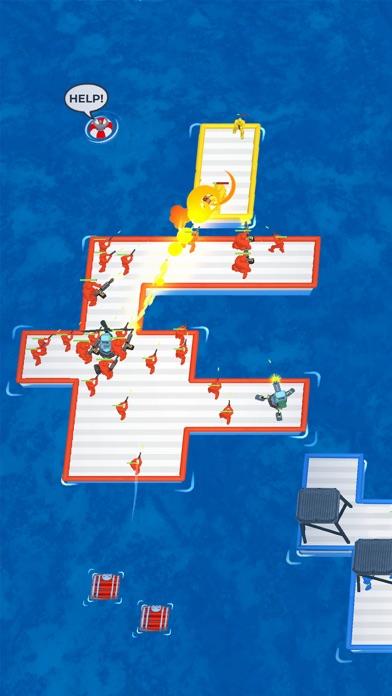 War of Rafts: Naval Battle iphone screenshot 1
