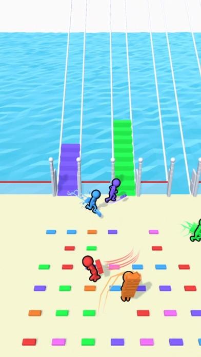 Bridge Race iphone screenshot 1