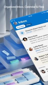 Microsoft Outlook iphone screenshot 1