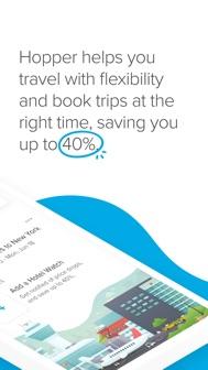Hopper - Flight & Hotel Deals iphone screenshot 2