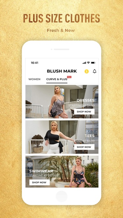 Blush Mark: Women's Clothing iphone screenshot 4