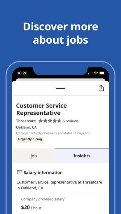 Indeed Job Search iphone screenshot 2