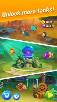 Fishdom iphone screenshot 4