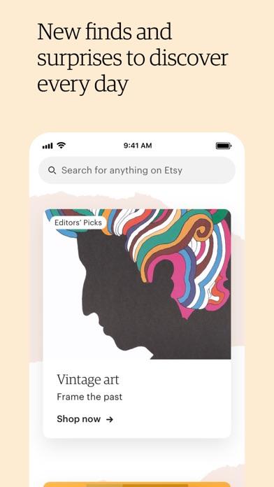 Etsy: Custom & Creative Goods iphone screenshot 3