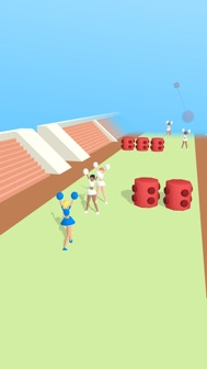 Cheerleader Run 3D iphone screenshot 1