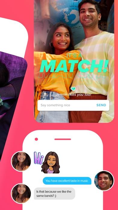 Tinder - Dating & New Friends iphone screenshot 2