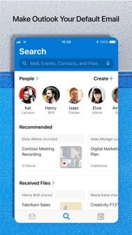 Microsoft Outlook iphone screenshot 4