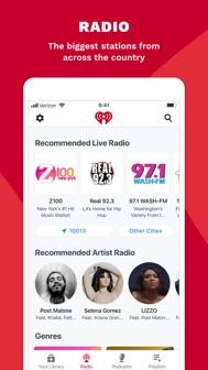 IHeart: Radio, Music, Podcasts iphone screenshot 3
