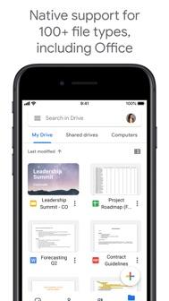 Google Drive iphone screenshot 3