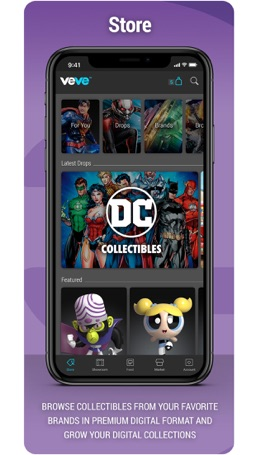 How to cancel & delete VeVe Collectibles 1