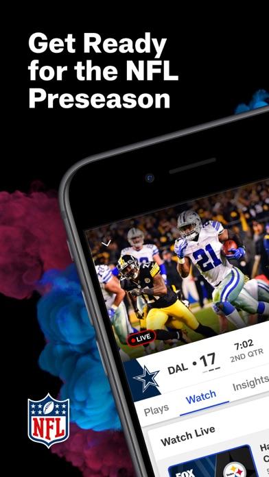 NFL iphone screenshot 1