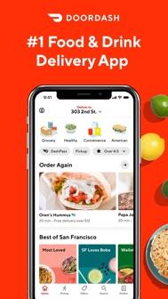 DoorDash - Food Delivery iphone screenshot 1
